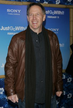 "Dennis Dugan arrives at the ""Just Go With It"" Premiere in New York"