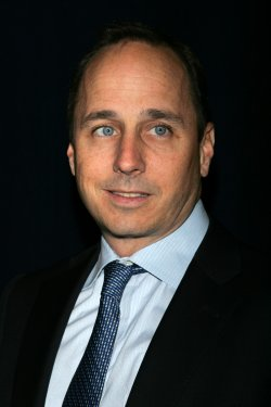 Brian Cashman arrives for the Joe Torre Safe At Home Foundation 8th Annual Gala in New York