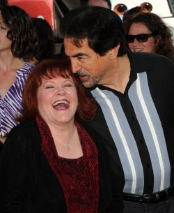 "Edie McClurg and Joe Mantegna attends the ""Cars 2"" premiere in Los Angeles"