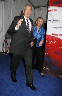"George Pataki arrives for the ""Game Change"" Premiere in New York"