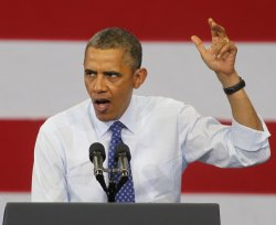 President Obama campaigns for Ed Markey