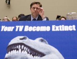 FCC Chairman Martin testifies on Capitol Hill in Washington
