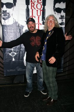 """Billy Connolly and Troy Duffy attend the party for the 10th Anniversary and DVD release of """"The Boondock Saints II"""" in New York"""