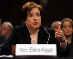 Confirmation hearing for Supreme Court nominee Elena Kagan in Washington
