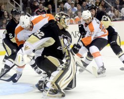 Philadelphia Flyers Scores in Pittsburgh