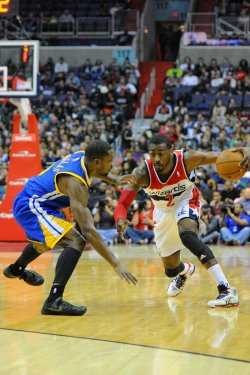 Washington Wizards vs Golden State Warriors in Washington
