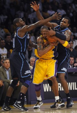Utah Jazz vs Los Angeles Lakers in Los Angeles
