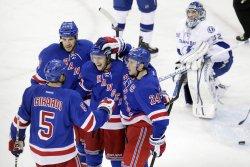 Rangers vs Lightning at Madison Square Garden