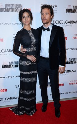 American Cinematheque honors Matthew McConaughey in Beverly Hills, California