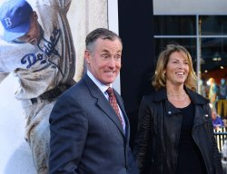 "John C. McGinley attends the ""42"" premiere in Los Angeles"