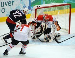 USA vs. Switzerland Men's Ice Hockey at 2010 Winter Olympics in Vancouver