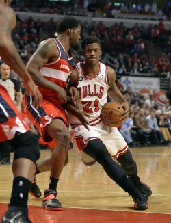 Washington Wizards Play Chicago Bulls in Game 5 of Eastern Conference Quarterfinals in Chicago