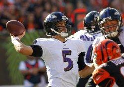 Cincinnati Bengals against the Baltimore Ravens