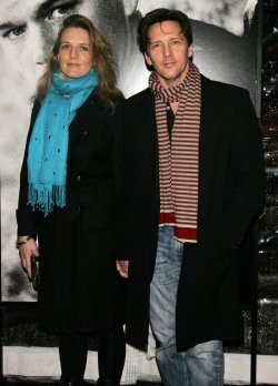 "Andrew McCarthy and wife arrive for the premiere of ""Green Zone"" in New York"