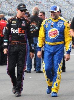 NASCAR Sprint Cup qualifying at Daytona Beach, Florida