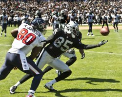Oakland Raiders vs. Houston Texans