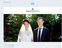 Zuckerberg Marries Chan in Palo Alto