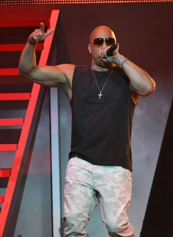 Vin Diesel Performs at the 2017 Billboard Latin Music Awards