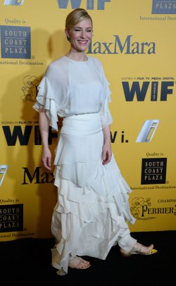Women In Film Crystal + Lucy Awards held in Los Angeles