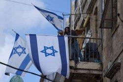 Israeli Settler In Muslim Quarter Old City Jerusalem