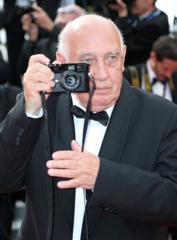 Raymond Depardon attends the Cannes Film Festival