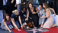 Mariska Hargitay receives star on Hollywood Walk of Fame in Los Angeles