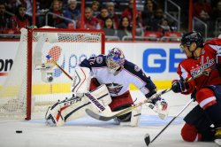 Washington Capitals vs Columbus Blue Jackets in Washington