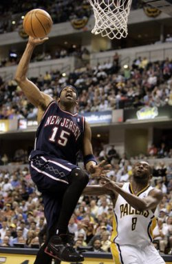 NEW JERSEY NETS VS INDIANA PACERS