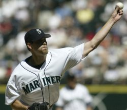 SEATTLE MARINERS MATT THORNTON