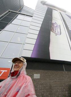 Super Bowl XLIV preperations at University of Phoenix Stadium