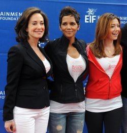 Lilly Tartikoff, and actresses Halle Berry and Alyson Hannigan participate in Revlon Run/Walk for Women in Los Angeles