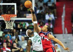 Wizards' JaVale McGee in Washington