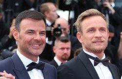 Francois Ozon and Jeremie Renier attend the Cannes Film Festival