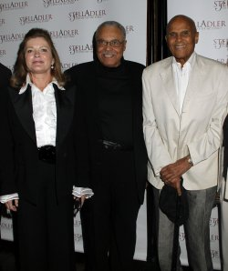 "Kate Mulgrew, Harry Belafonte and James Earl Jones arrive for the ""Stella By Starlight"" Gala in New York"
