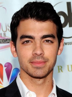 Musician Joe Jonas arrives at the 2012 Miss USA competition in Las Vegas