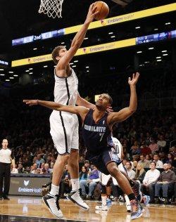 Nets vs Bobcats at the Barclays Center