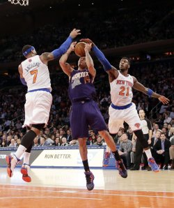 New York Knicks vs Phoenix Suns