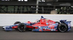 Marco Andretti grabs second starting position at the Indianapolis Motor Speedway