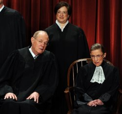 U.S. Supreme Court sits for group portrait in Washington