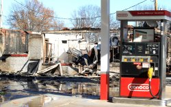Day after violence in Ferguson
