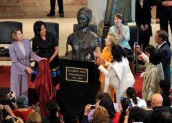 Sojourner Truth bust unveiled at the Capitol in Washington