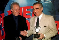 Film directors Scorsese and Sheridan honored by United Nations