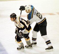 St. Louis Blues-Nashville Predators hockey