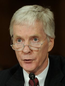 Ryan Crocker testifies on his nomination to be Ambassador to Afghanistan in Washington