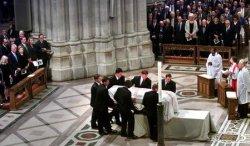Katharine Graham's funeral services