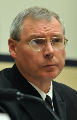 Naval Sea System Command Commander Vice Adm. Kevin McCoy testifies in Washington