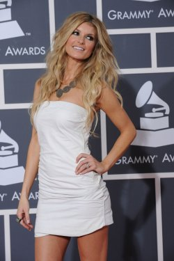 Marisa Miller arrives at the 52nd annual Grammy Awards