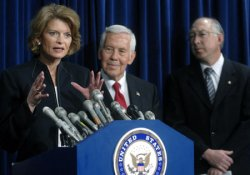 SENATORS INTRODUCE LEGISLATION AIMES AT ENERGY EFFICENCY IN WASHINGTON
