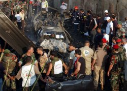 CAR BOMB KILLS ANTI-SYRIAN PARLIAMENTARIAN IN BEIRUT