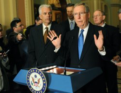 Senate passes American Recovery and Reinvestment Act of 2009 on Capitol Hill in Washington